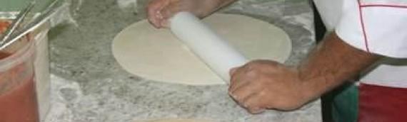 Receita de massa de pizza de geladeira